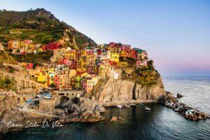 Een mooie route door Italië