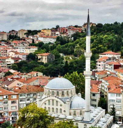 Ooglaseren in Istanbul