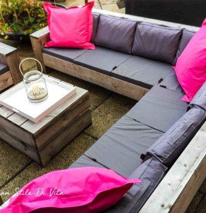 Relaxen in eigen tuin