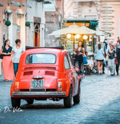 Met de auto naar Rome